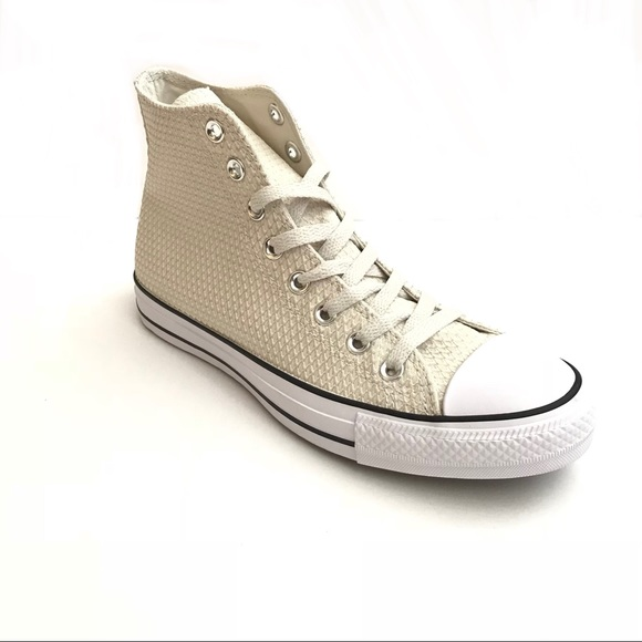 beige snakeskin converse